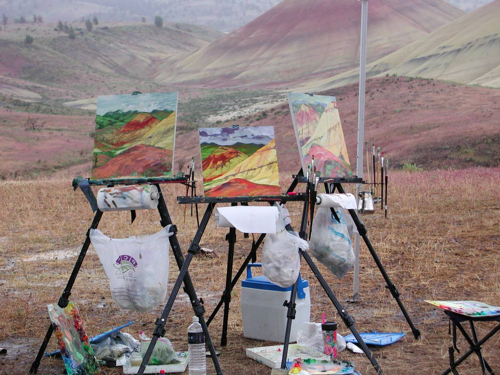 Plein Aire at Painted Hills